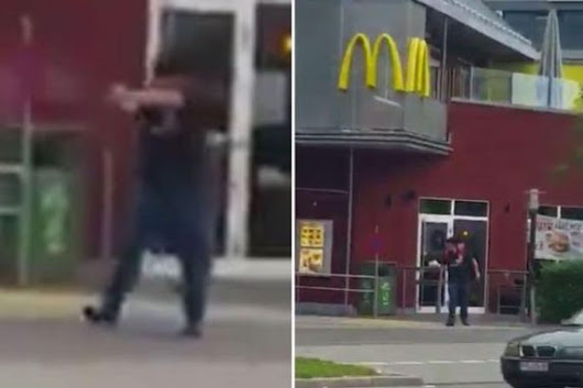 "Munich Killer,An 18yr Old Lure Victims To Crime Scene With ""Free McDonalds"",Killing 9,Wounding 16 Others"
