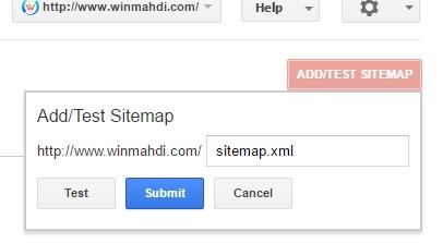 add sitemap ke google dan bing terbaru