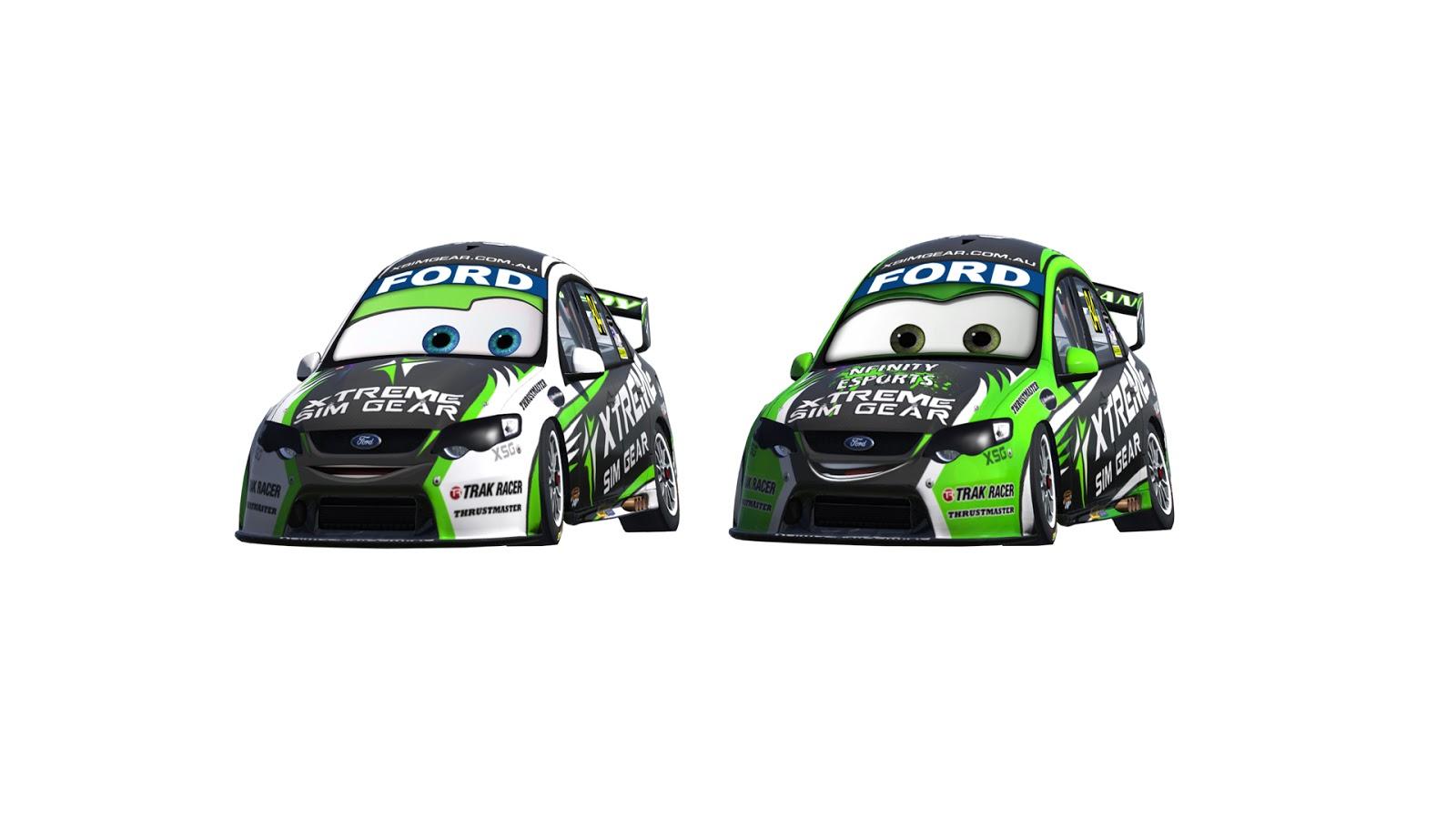 Simdesignr V8 Supercar Cartoon Quot Cars Quot