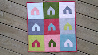 Welcome Home mini quilt