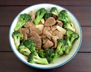 Tumis Brokoli Daging Sapi