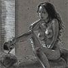 Poised Nude
