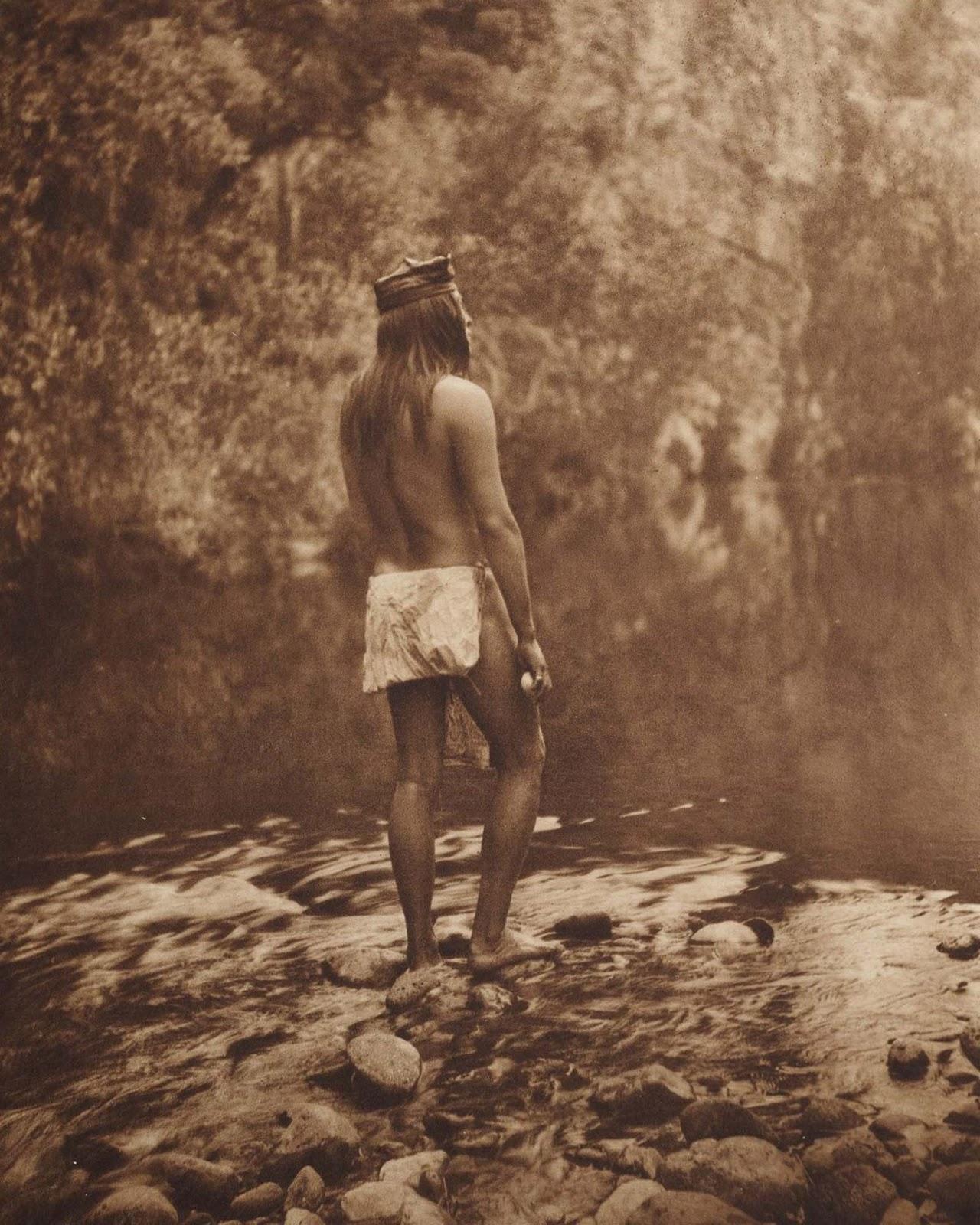 An Apache man. 1910.