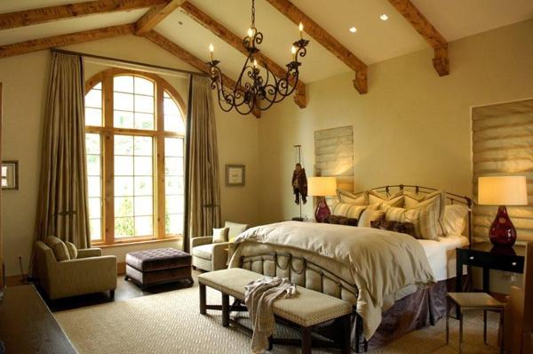 Design Home Interior: Spanish Bedroom Design