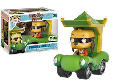 Emerald City Comicon 2017 Exclusive Hong Kong Phooey & Phooeymobile Pop! Rides by Funko