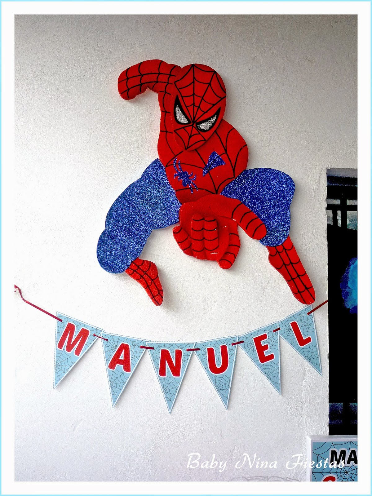 spiderman guirnalda
