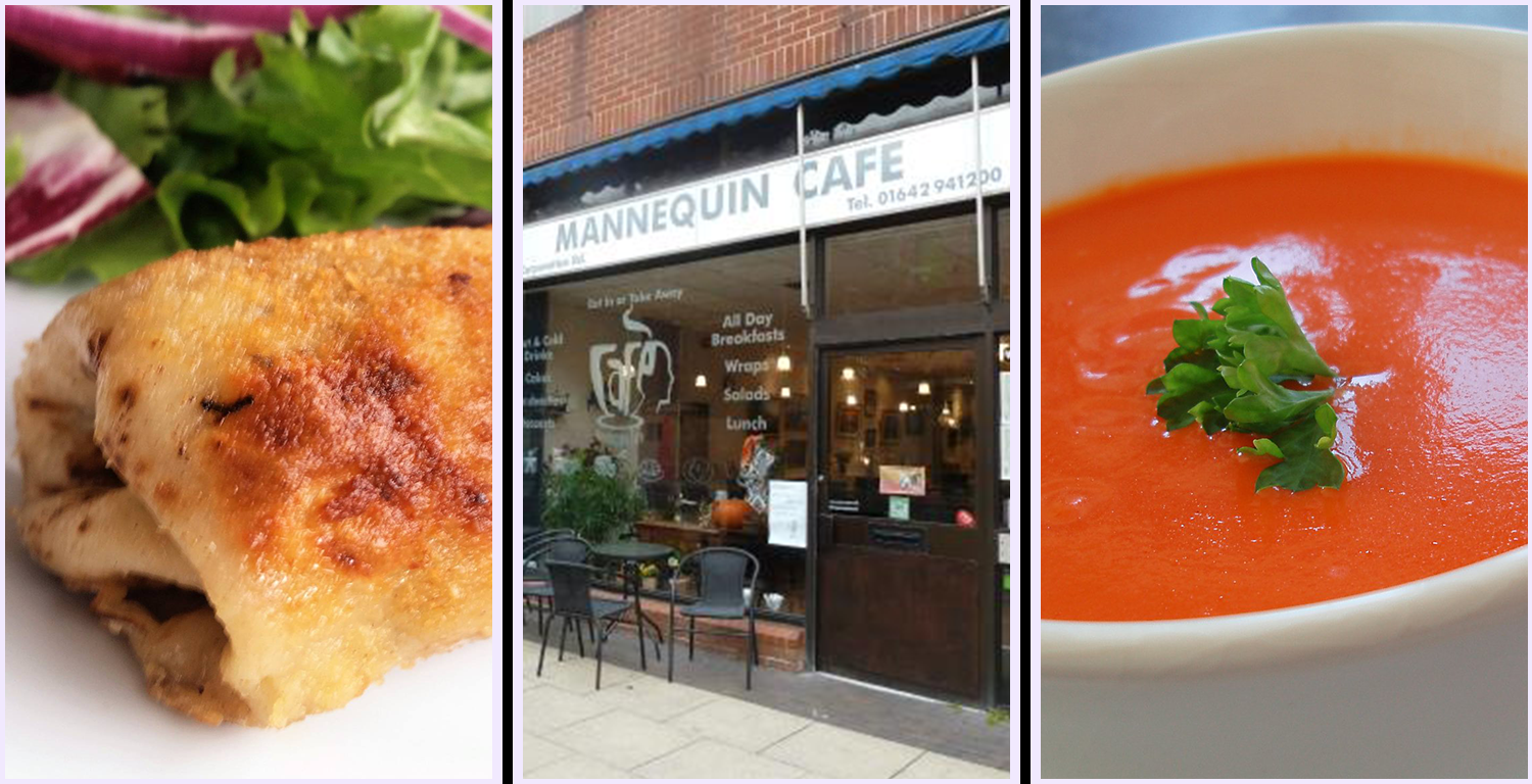 #7 top rated restaurant in Middlesbrough according to Trip Advisor, Mannequin Cafe