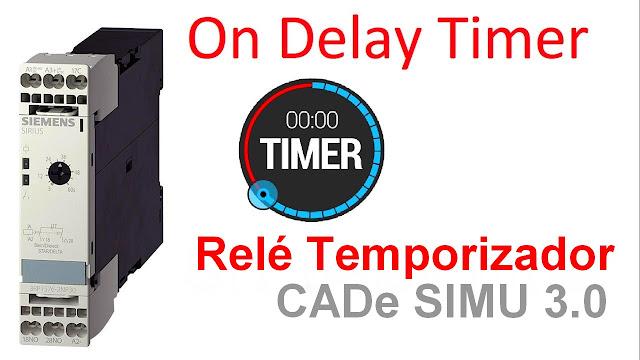 Aprender Comandos Elétricos - Temporizadores On-delay