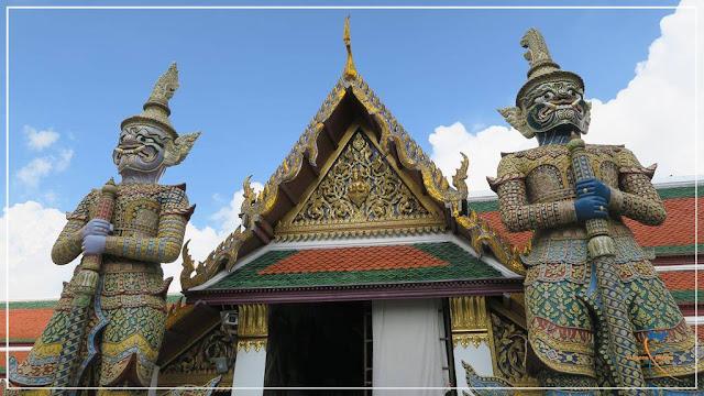 Palácio Real de Bangkok, na Tailândia