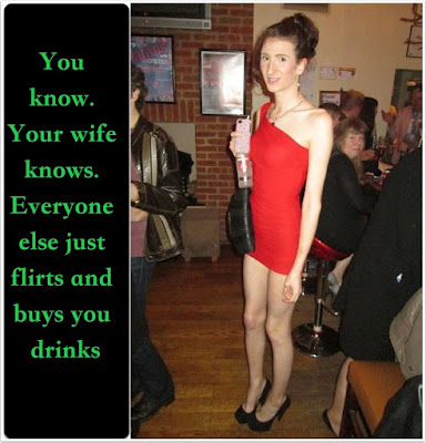 You know it and love it - Candi's Place - Crossdressing and Sissy Tales and Captioned images