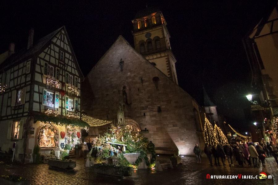 Mercado de Navidad de Kaysersberg, Alsacia