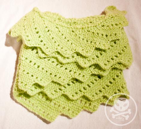Mirelladesign Drachenschwanz Schal