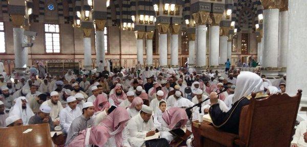 kajian islam di masjid annabawi
