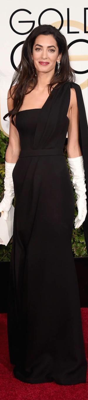Amal Clooney 2015 Golden Globes