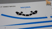 McDonnell Douglas DC 9 -32 NASA - 1/144 scale model Inbox review
