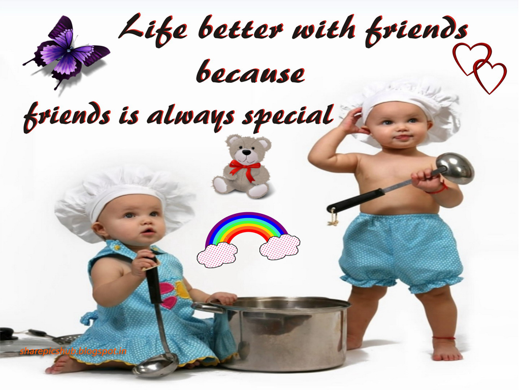 Cute Wallpapers With Friendship Quotes