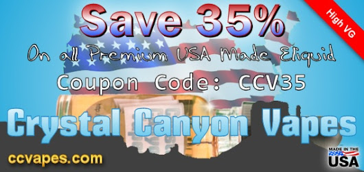35% off American Made Eliquid
