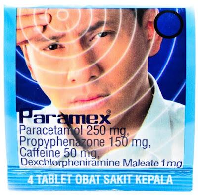 Harga Paramex Terbaru 2017 Obat Sakit Kepala
