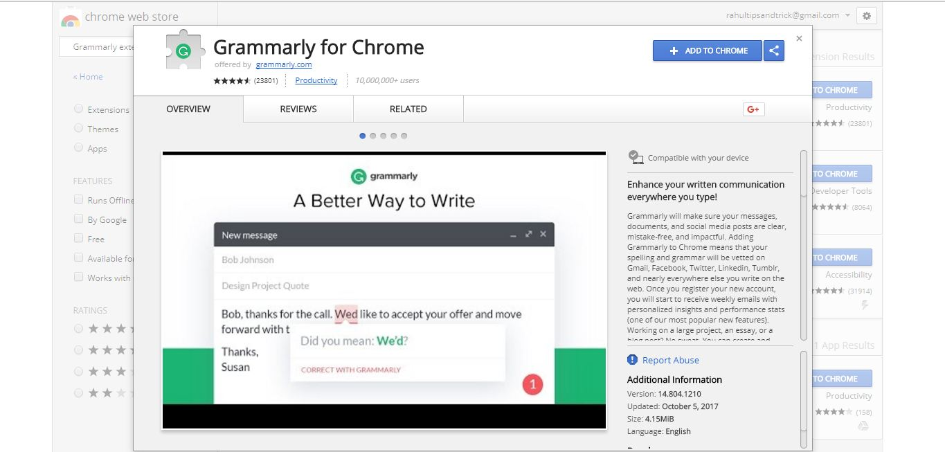 7 Must Chrome Extensions For Every Blogger