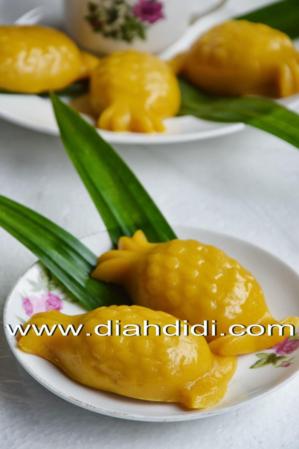 Diah Didis Kitchen Kue Ku Labu Kuning