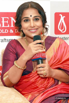 Vidyabalan Stills at Senco Gold and Diamonds Showroom Launch Noida