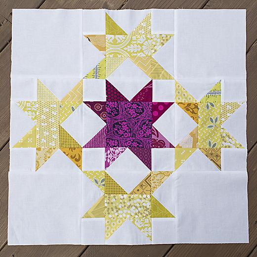 Radiant Splendor Quilt Block Free Tutorial