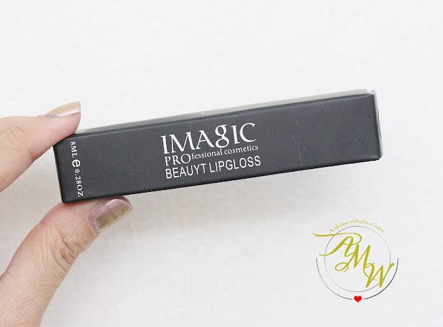 a photo of iMagic PROfessional Beauty Lipgloss Review shade 11