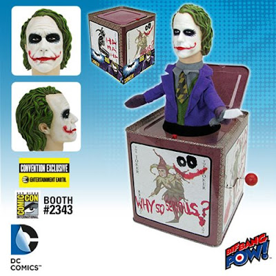 San Diego Comic-Con 2016 Exclusive The Dark Knight The Joker Jack in the Box by Bif Bang Pow! x Entertainment Earth