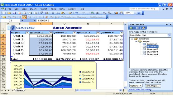 Office 2003 screenshot 2
