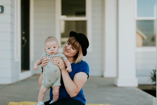 post-baby body image