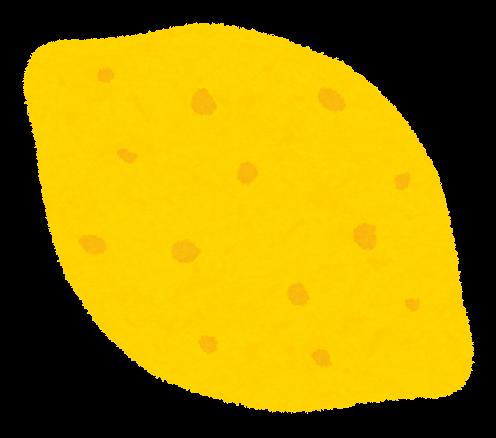 レモンのイラストフルーツ かわいいフリー素材集 いらすとや