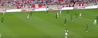 بيرو تفوز على السعودية بثلاثية
