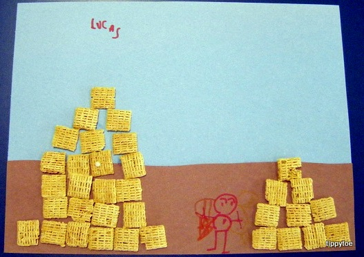 Tippytoe Crafts Egyptian Pyramids