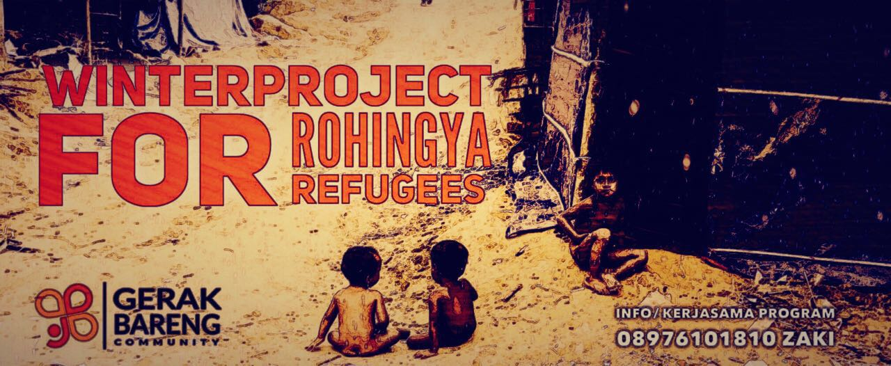 #WinterProject For Rohingya Refugees