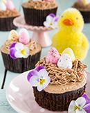 https://lachocolaterapia.blogspot.com.es/2018/03/cupcakes-zanahoria-chocolate-nido-huevos-pascua.html