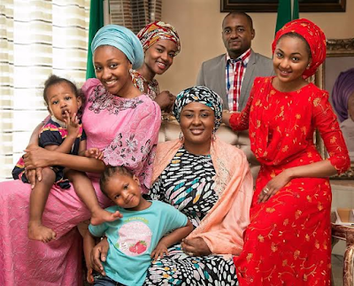 President Buhari wife Aisha share her family picture