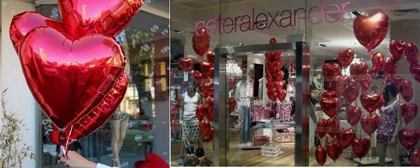 decoracao-para-os-dias-dos-namorados-com-baloes-de-coracao-para-lojas