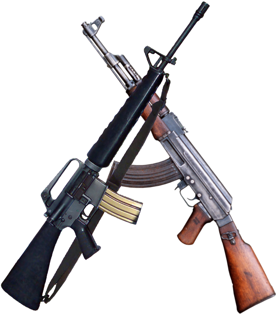 AK47 VS AR-15/M-16 (read more)