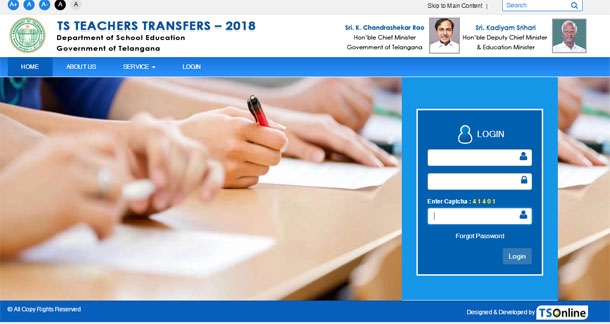 TS Teachers Transfers orders download 2018, place allotment