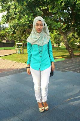 model hijab perpisahan cewek manis Hijab