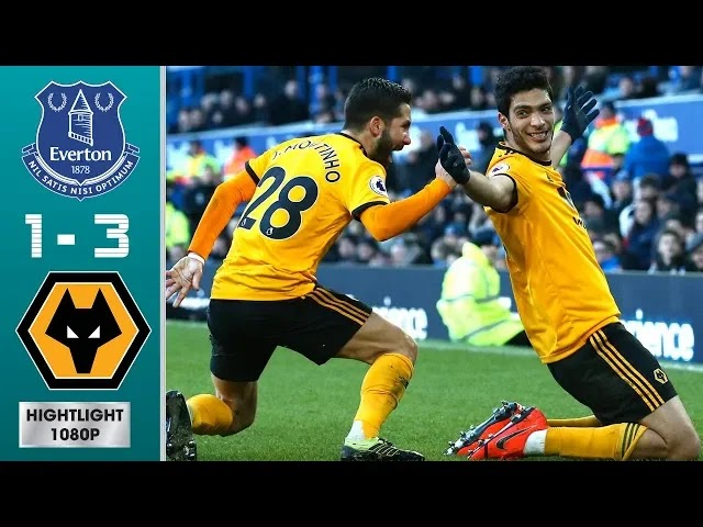 Everton vs Wolves 1-3 Football Highlights and Goals 2019