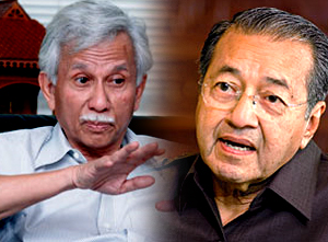 Image result for images of daim and mahathir