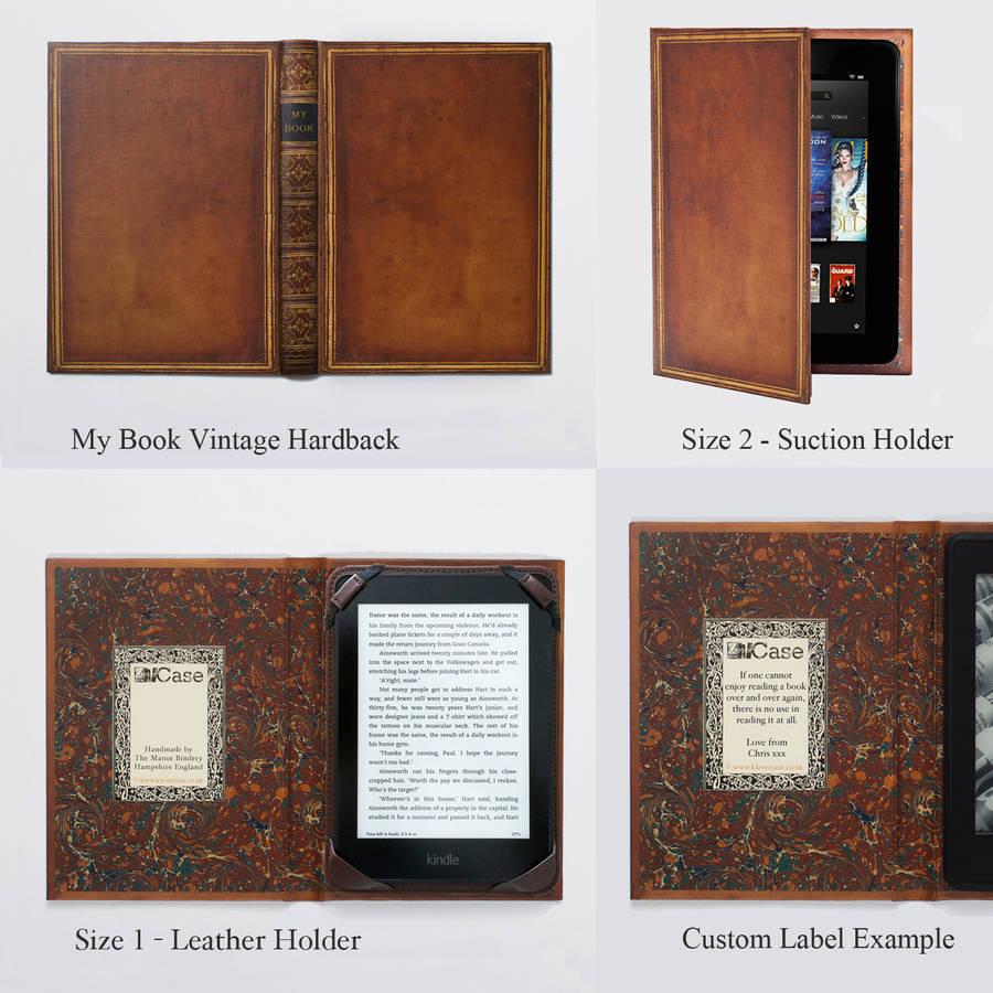 Image result for Vintage Book E-Reader Cover