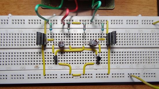 Dc Circuit And Waveform