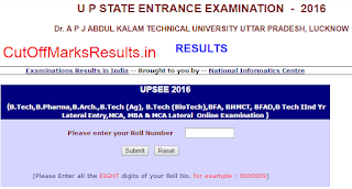 UPSEE 2016 Result Declared
