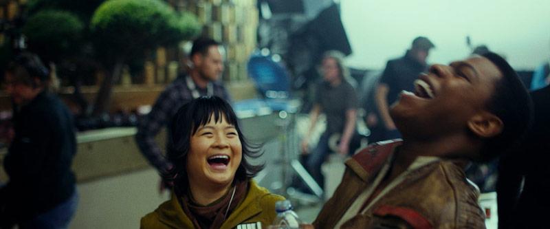 Star Wars: The Last Jedi: Kelly Marie Tran and John Boyega.