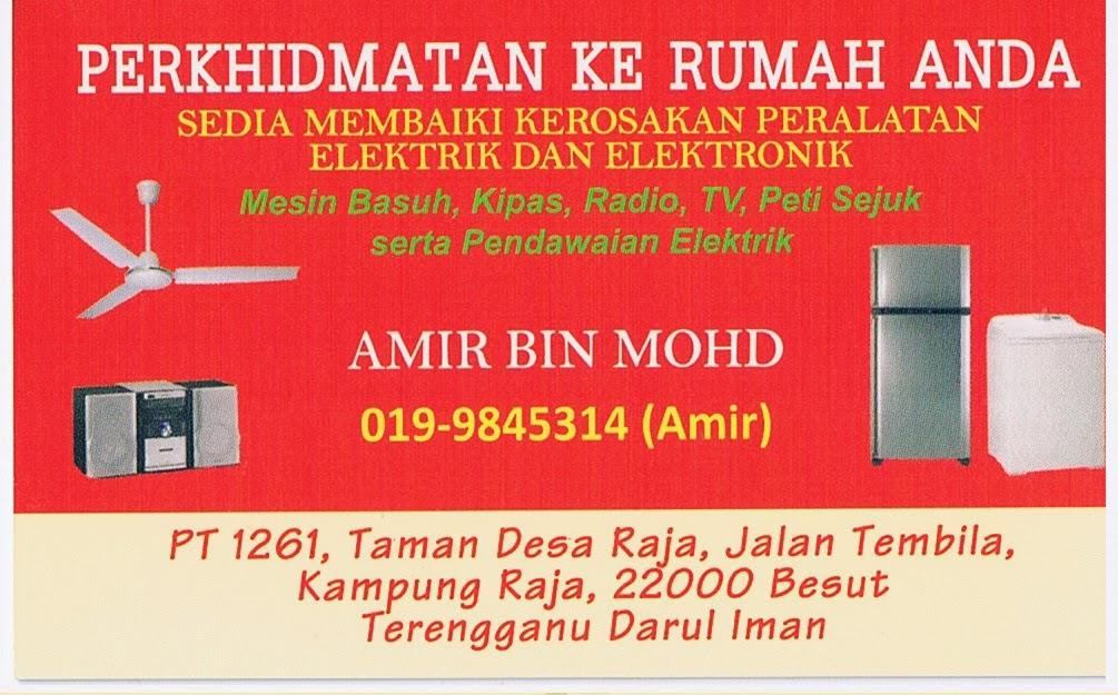 Amir Electrical 0199845314 Perkhidmatan Pendawaian Elektrik Dan Guest House Homestay