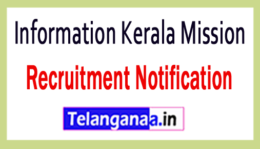 Information Kerala Mission IKM Recruitment