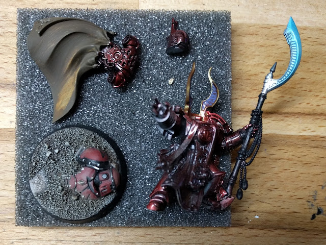 Ahriman disassembled and in progress