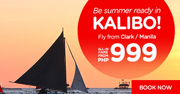 Air Asia Summer Promo P999 All-In Fare 2017